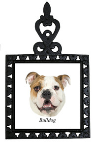 Bulldog Iron Trivet