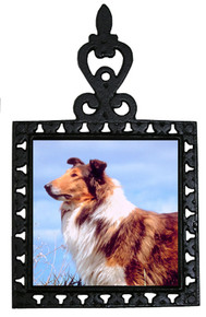 Collie Iron Trivet