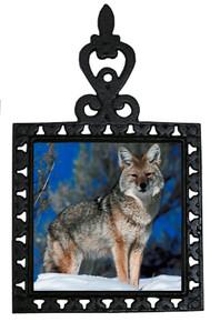 Coyote Iron Trivet