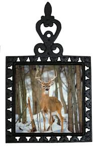 Deer Iron Trivet