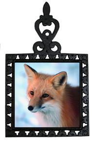 Fox Iron Trivet