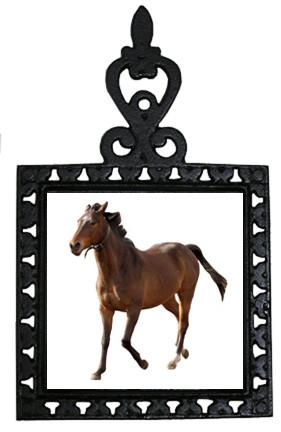 Arabian Iron Trivet