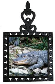 Alligator Iron Trivet