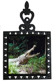 Crocodile Iron Trivet