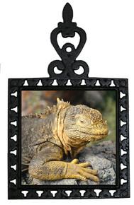 Iguana Iron Trivet