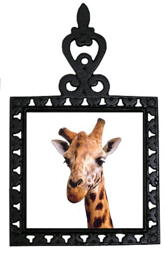 Giraffe Iron Trivet