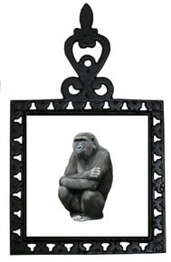 Gorilla Iron Trivet