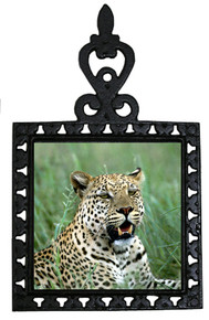 Leopard Iron Trivet