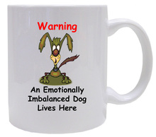 Emotionally Imbalanced Dog: Mug