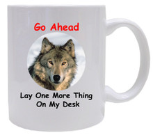 Lay One More Thing On My Desk: Mug