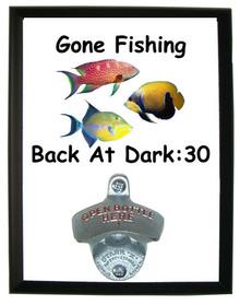 Gone Fishing: Bottle Opener