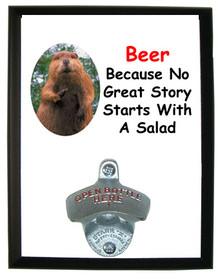 No Salad: Bottle Opener