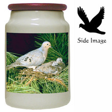 Dove Canister Jar