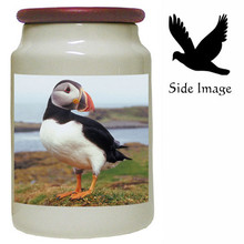 Atlantic Puffin Canister Jar