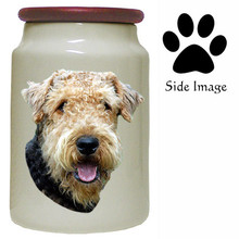 Airedale Canister Jar