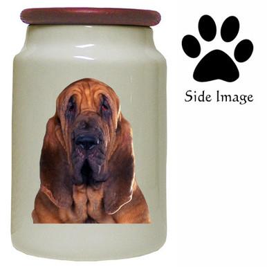 Bloodhound Canister Jar