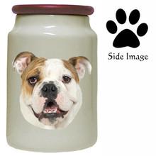 Bulldog Canister Jar