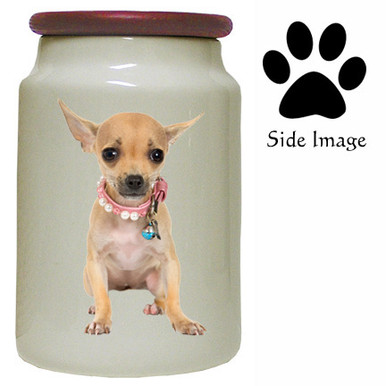 Chihuahua Canister Jar