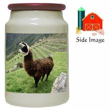 Llama Canister Jar