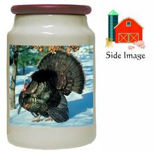Turkey Canister Jar
