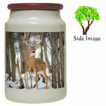 Deer Canister Jar