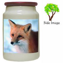 Fox Canister Jar