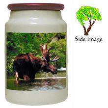 Moose Canister Jar