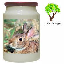 Rabbit Canister Jar