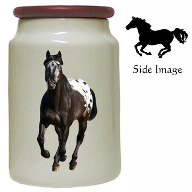 Appaloosa Canister Jar