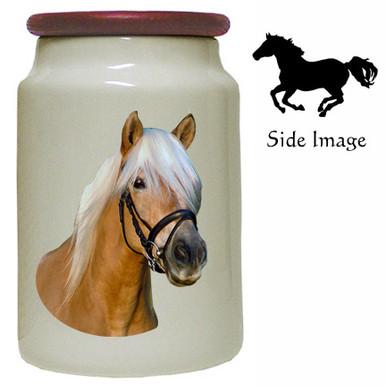 Haflinger Canister Jar