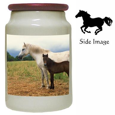 Horse Canister Jar