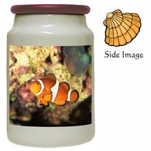 Clownfish Canister Jar