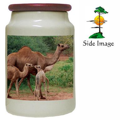 Camel Canister Jar