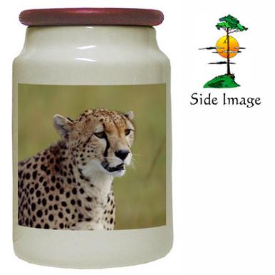 Cheetah Canister Jar