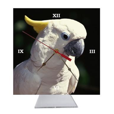 Cockatoo Desk Clock
