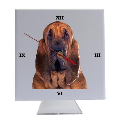 Bloodhound Desk Clock