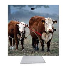 Cow Desk Clock