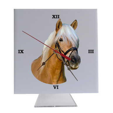 Haflinger Desk Clock