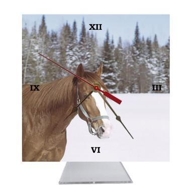 Horse Desk Clock