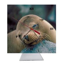 Sea Lion Desk Clock