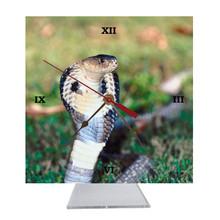 Cobra Snake Desk Clock