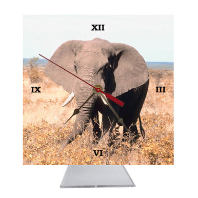 Elephant Desk Clock