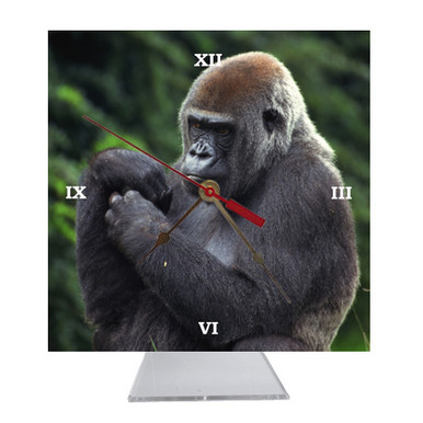 Gorilla Desk Clock