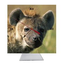Hyena Desk Clock