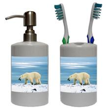 Polar Bear Bathroom Set