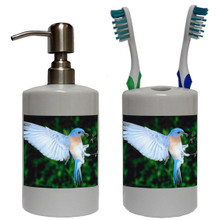 Bluebird Bathroom Set
