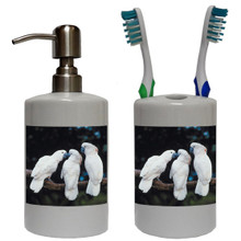 Cockatoo Bathroom Set