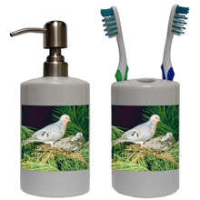 Dove Bathroom Set