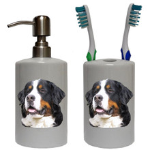 Bernese Mountain Dog Bathroom Set