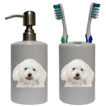 Bichon Bathroom Set